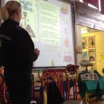 Visitors We learnt about stranger danger with the Community Police